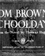Main title from Tom Brown's Schooldays (1951) (3)  Based on the novel by Thomas Hughes