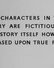 Main title from A Town Like Alice (1956) (14). The characters in this story are fictitious. The story itself however is based on fact