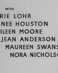 Main title from A Town Like Alice (1956) (5). Marie Lohr, Renee Houston, Eileen Moore, Jean Anderson, Maureen Swanson, Nora Nicholson