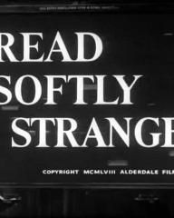 Main title from Tread Softly Stranger (1958) (4). Copyright MCMLVIII Alderdale Films Limited