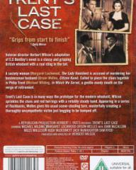 DVD cover of Trent's Last Case (1952) (1)