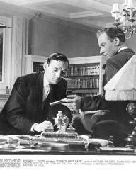 Michael Wilding (as Philip Trent) in a photograph from Trent's Last Case (1952) (24)
