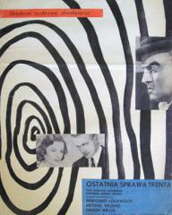 Polish poster for Trent's Last Case (1952) (1)