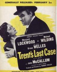 Poster for Trent's Last Case (1952) (1)