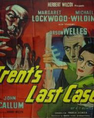 Poster for Trent's Last Case (1952) (3)