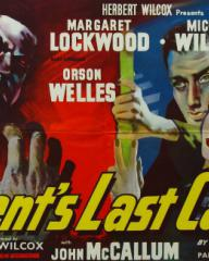 Poster for Trent's Last Case (1952) (8)