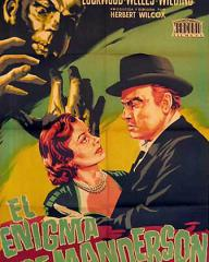 Spanish poster for Trent's Last Case (1952) (2)