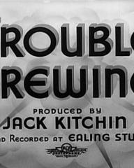 Main title from Trouble Brewing (1939)