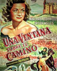 Argentine poster for Trouble in the Glen (1954) (1)
