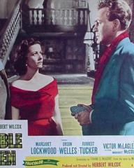 Lobby card from Trouble in the Glen (1954) (7)