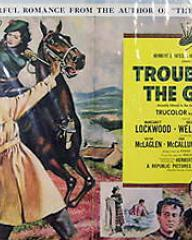 Poster for Trouble in the Glen (1954) (10)