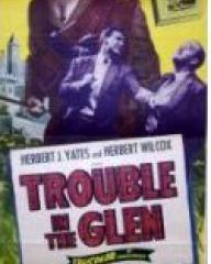 Poster for Trouble in the Glen (1954) (2)