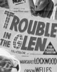 Poster for Trouble in the Glen (1954) (3)