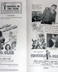 Pressbook for Trouble in the Glen (1954) (4)