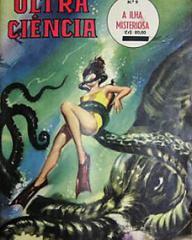 Ultra Ciencia magazine photonovel featuring Mysterious Island.  1962.