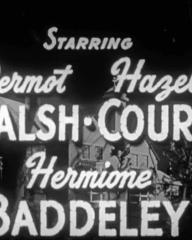 Opening credits from Counterspy (1953) [as Undercover Agent] (4)