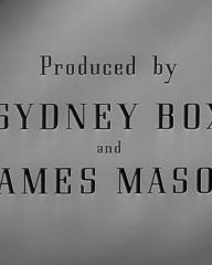 Main title from The Upturned Glass (1947) (11). Produced by Sydney Box and James Mason