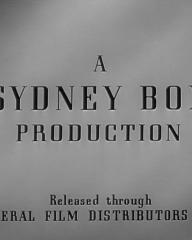 Main title from The Upturned Glass (1947) (4). A Sydney Box Production