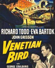 Poster from Venetian Bird (1952) (1)