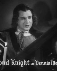 Main title from The Vicar of Bray (1937) (11). Esmond Knight as Dennis Melross