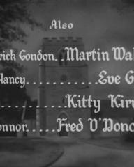 Main title from The Vicar of Bray (1937) (12).  Also Martin Walker Eve Gray, Kitty Kirwan, Fred O'Donovan