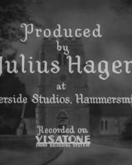 Main title from The Vicar of Bray (1937) (2).  Produced by Julius Hagen at the Riverside Studios Hammersmith.  Recorded on Visatone sound recording system