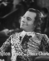 Main title from The Vicar of Bray (1937) (7).  K Hamilton Price as Prince Charles Stuart