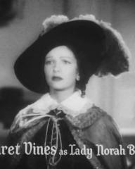 Main title from The Vicar of Bray (1937) (9).  Margaret Vines as Lady Norah Brendon