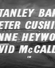 Main title from Violent Playground (1958) (3). Stanley Baker, Peter Cushing, Anne Heywood, David McCallum in