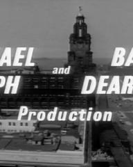 Main title from Violent Playground (1958) (4). Michael Relph and Basil Dearden's production