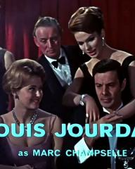 Main title from The VIPs (1963) (5). Louis Jourdan as Marc Champselle