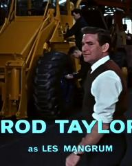Main title from The VIPs (1963) (9). Rod Taylor as Les Mangrum