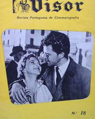 Visor magazine with Joan Greenwood and  Gerard Philipe in Knave of Hearts.  15th October, 1954, issue number 18.  (Portuguese)
