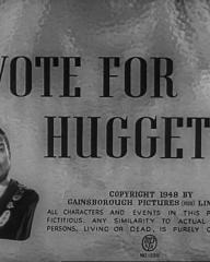 Main title from Vote for Huggett (1949) (4)