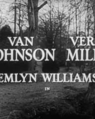 Main title from Beyond This Place (1959) [as Web of Evidence] (2). Van Johnson, Vera Miles, Emlyn Williams in