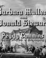 Main title from Welcome, Mr Washington (1944) (3). Barbara Mullen and Donald Stewart with Peggy Cummins