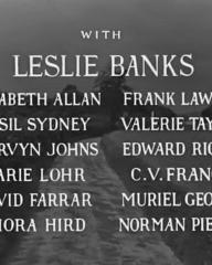 Main title from Went the Day Well? (1942) (3). Leslie Banks