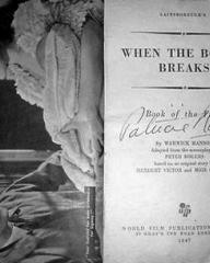 Book of When the Bough Breaks (1947) (1)