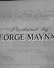 Main title from Where There's a Will (1955) (10).  Produced by George Maynard