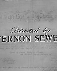 Main title from Where There's a Will (1955) (11).  Directed by Vernon Sewell