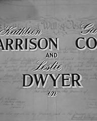 Main title from Where There's a Will (1955) (2).  Kathleen Harrison George Cole and Leslie Dwyer in