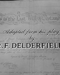 Main title from Where There's a Will (1955) (9).  Adapted from his play by R F Delderfield