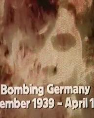 Main title from the 1974 'Whirlwind' episode of The World at War (1973-74) (2). Bombing Germany September 1939 – April 1944