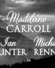 Main title from White Cradle Inn (1947) (4). Madeleine Carroll, Ian Hunter, Michael Rennie in