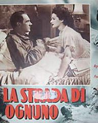 Italian lobby card from The White Unicorn (1947) (1)