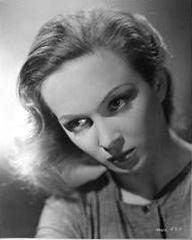 Joan Greenwood (as Lottie Smith) in a photograph from The White Unicorn (1947) (11)