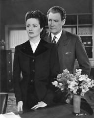 Margaret Lockwood (as Lucy) and Ian Hunter (as Philip Templar) in a photograph from The White Unicorn (1947) (33)
