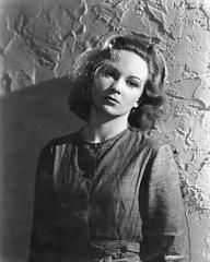 Joan Greenwood (as Lottie Smith) in a photograph from The White Unicorn (1947) (62)