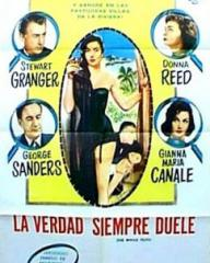 Argentine poster for The Whole Truth (1958) (1)