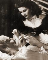 Emrys Jones (as Ned Cotterill) and Margaret Lockwood (as Barbara Worth) in a photograph from The Wicked Lady (1945) (33)